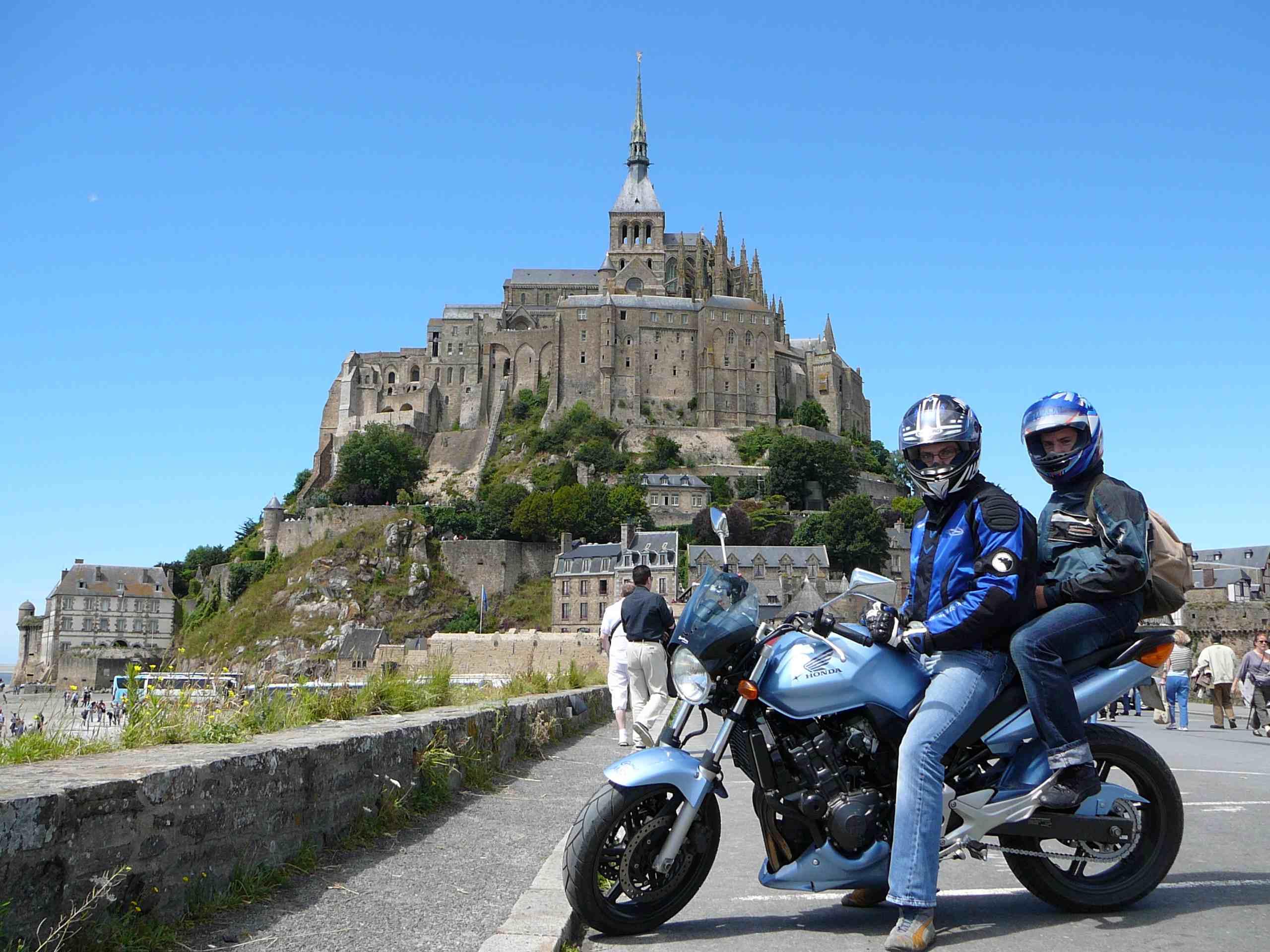 Rando moto au mont st michel 4 for Au jardin st michel pontorson